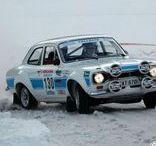 Classic rally car