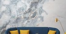 Marble Interiors / Is marble making its comeback? The timeless, rather expensive rock type is seen everywhere right now,