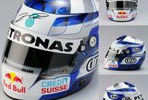 F1 Helmet Kimi Räikkönen