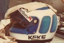 F1 Helmet Keke Rosberg