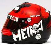 F1 Helmet Heikki Kovalainen