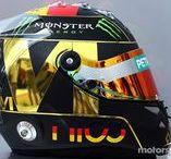 F1 Helmet Nico Rosberg