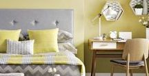 Yellow Room Ideas / Get fantastic yellow room ideas on yellow home decor and decorating with yellow with these photos and tips.