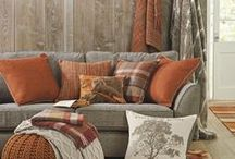 Orange Room Ideas / See how to use orange in every room of your home with these decorating ideas.