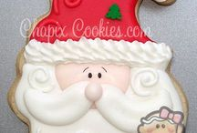 Christmas cookies design