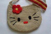 Bag: Crochet Bag / Knit Bag