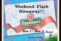 Flash Giveaways / Enter now they'll be over soon! / by Traci B KY