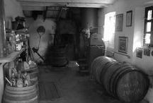 Neive - Distilleria Romano Levi / Distilleria Romano Levi in b/w