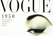 vogue magazine covers, posters, illustrations etc / by Catherine Last Name