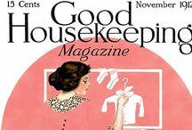 Vintage Good Housekeeping magazine covers etc / by Catherine Last Name