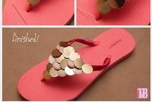 Shoe: Sandal & Flip flop Crafts