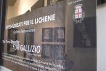 Alba - Spregiudicati per il Lichene / 21th September 2013, 09th and 24 November 2013 The Time identity For Gallizio. Enzo Mastrangelo ' works and performance.
