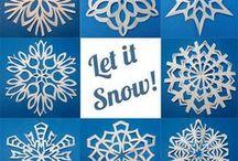Paper Cut / Snow Flake Template