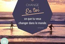 Positive attitude #zen #bienetre #mieuxetre #developpementpersonnel / Citations, mots, discours, illustrations et visuels positifs !