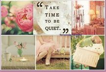 Beautiful Mood Boards / by Catherine Last Name