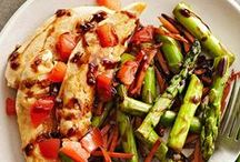 Dinnertime / quick, easy, healthy / by Traci B KY