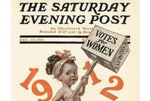 Vintage Saturday Evening Post / by Catherine Last Name