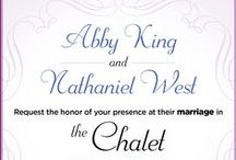 The Chalet / Wedding of Abby King and Nathaniel West