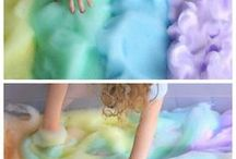 Easy & Fun Kid Activities / Easy and fun ideas for keeping tiny humans entertained and learning.