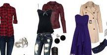 Outfits / Korut, vaatteet