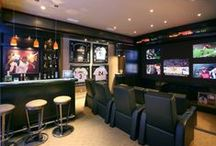 Man Caves / Ideas for man caves in your Forino home.