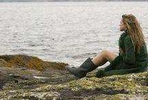 Seashore Whispers / In green