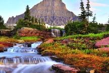 Verde e monti / Panorami spettacolari montani e dolci colline verdi