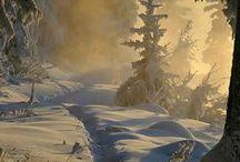 Neve / Paesaggi innevati...