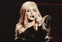 Lady Gaga / Stop the drama. Start the music.