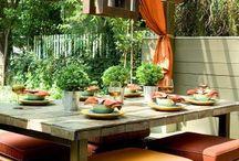 Exterior ( porches, patios, terrazas, verandas, jardines, etc)