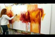 Arte que me gusta. Cuadros acrilico. Esculturas. Collage.
