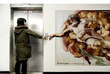 Marketing / Ambient marketing, publicidad espacial, anuncios...