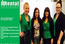 Fun Times with Rental Advisors / Rental Advisors Team all dressed up