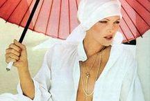 under my / umbrella