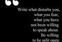 Writing Prompts & Ideas / (+ a little procrastination)