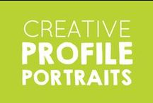 Creative Profile Portraits / Celebrate yourself with a new portrait and invite others to join you!