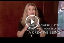 Video Tips to Get Unstuck and Get Creative / Spark Your Being with Jennifer Joy brings videos with tips on how to get unstuck, get creative, and live your purpose