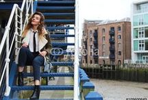 Young Businesswoman in London City / Photos of classy girl, businesswoman in London City. Photos available to buy on Fotolia: www.fotolia.com/p/205599990