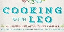Cooking with Leo: Allergen-Free Autism Family Cookbook / Cooking with Leo: An Allergen-Free Autism Family Cookbook  by Erica Daniels  Link: http://a.co/435AjcG Cooking with Leo is a mother's love letter to and inspired by her son. This heartfelt cookbook also tells the story of a mother desperate to heal and to connect with her severely autistic son. A story of a mother finally connecting with her hard to reach child through the most vital everyday activity--cooking.