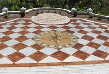Tile patterns / Possibly the most popular engraved pattern, tile is an easy choice for decorative concrete. Whether you choose acid or acrylic stain, the results are sure to be amazing.
