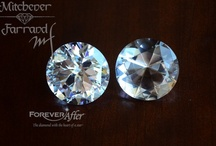ForeverAfter Diamond / Our patented cut ForeverAfter diamond is brighter and has more sparkle than the traditional diamond. While a traditional cut diamond has 57 facets ours has 81 facets that are cut in such a way that you receive the greatest light return. All ForeverAfter diamonds are certified have have a laser inscribed number on the girdle of each diamond so it can be identified in case of theft or loss.