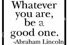 Favorite Quotes & Advice