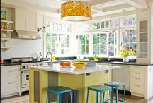 Fresh cooking & dining spaces