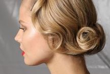 wedding hairstyles / great hair styles for bride or bridesmaids for a wedding