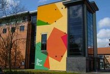 The NCCD Building / Images of our beautiful iconic building in Sleaford