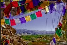 """Travel Ladakh ! - """"Little Tibet"""" / Ladakh, Indian region isolated from the rest of the world for 6 months a year because of the snow..."""