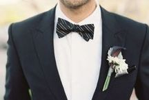 Dress the Groom / What is sexier than a groom strutting to the alter in style?
