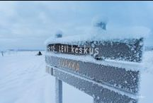 Lapland 1 / More pictures from the Levi mountain crossing the Polar Circle