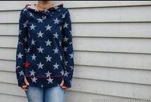 Nähen-Shirts, Pullis und Oberteile