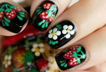 Flower Nails / #Uñas decoradas con #flores, #Flower #Nails